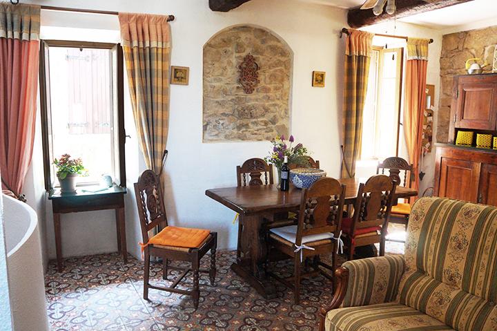 La Belle Ancienne Salon Salle A Manger Cuisine